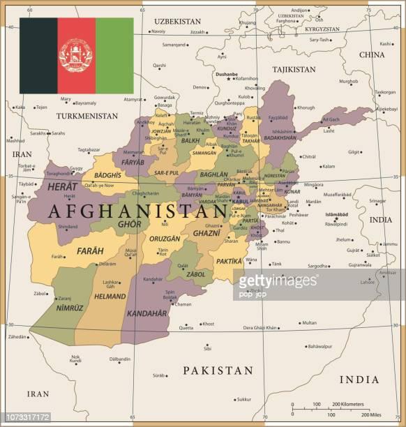 20 - Afghanistan - Vintage Color Dark