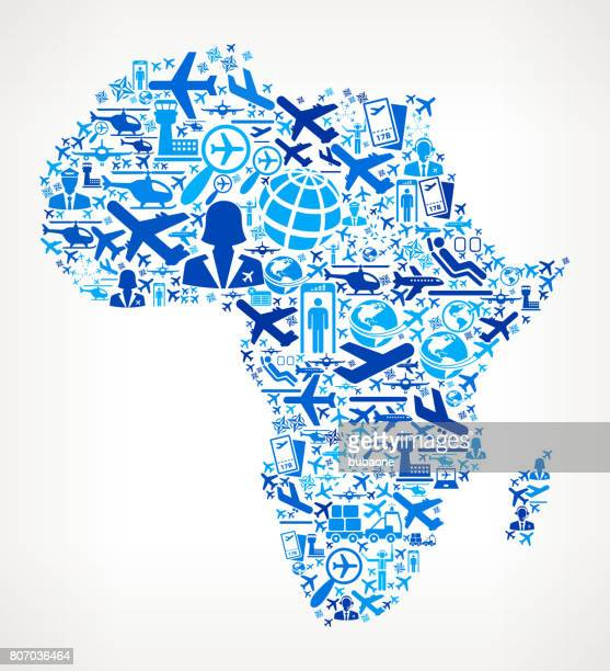 Africa Aviation and Air Planes Vector Graphic