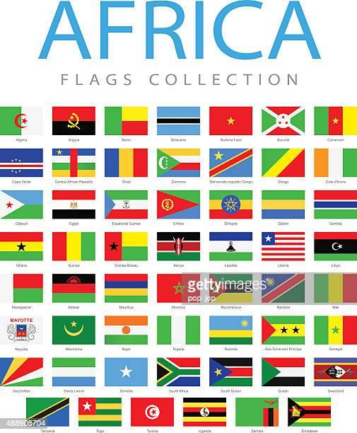 ilustrações, clipart, desenhos animados e ícones de áfrica-bandeiras-ilustração - libéria