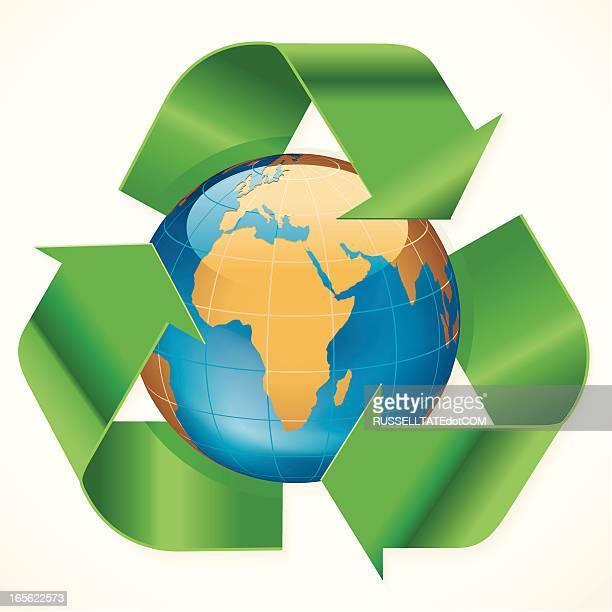 Afrika Recycling-Symbol