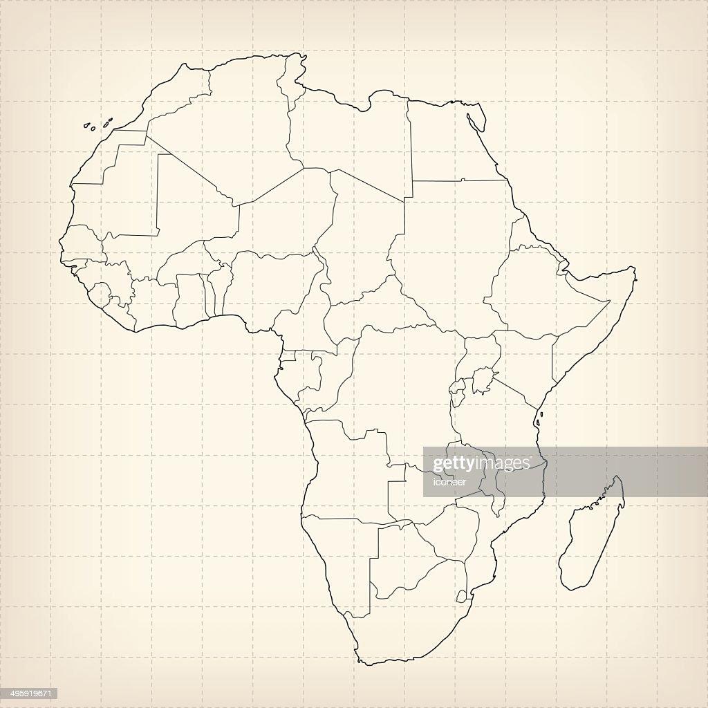 Africa sketch map