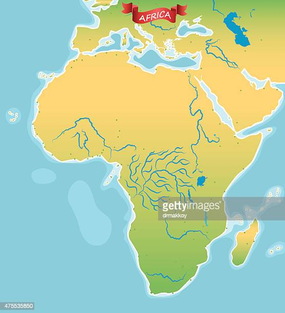 africa - nile river stock illustrations, clip art, cartoons, & icons