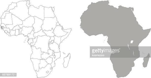 ilustraciones, imágenes clip art, dibujos animados e iconos de stock de áfrica - áfrica