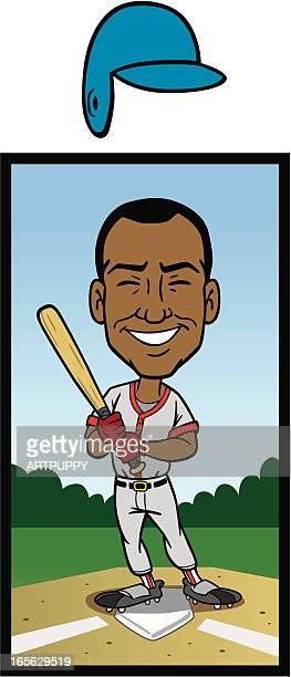 African American Baseball Player