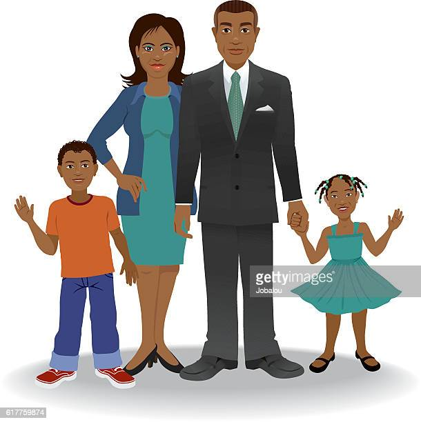 African American Ethnic Family