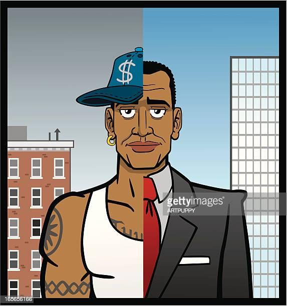 illustrations, cliparts, dessins animés et icônes de homme afro-américain - racisme