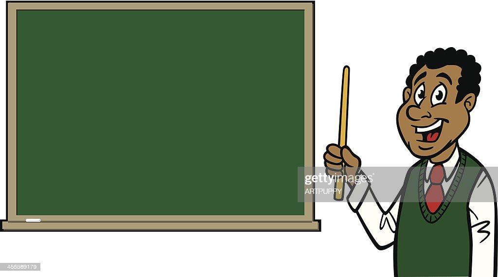 cartoon blackboard teacher clipart - Cartoon, Blackboard, Teacher,  transparent clip art