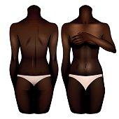African american women body