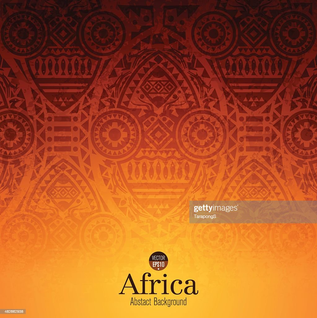 African art background design.