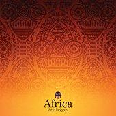 African art background design.