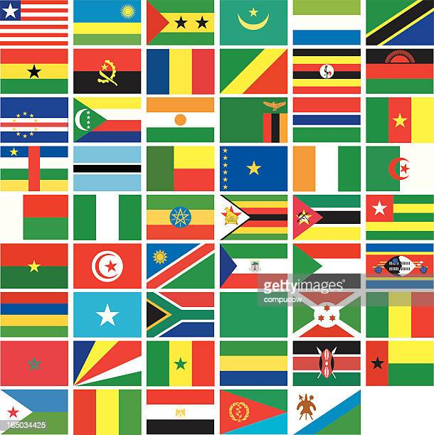african banners - ghana flag stock illustrations, clip art, cartoons, & icons
