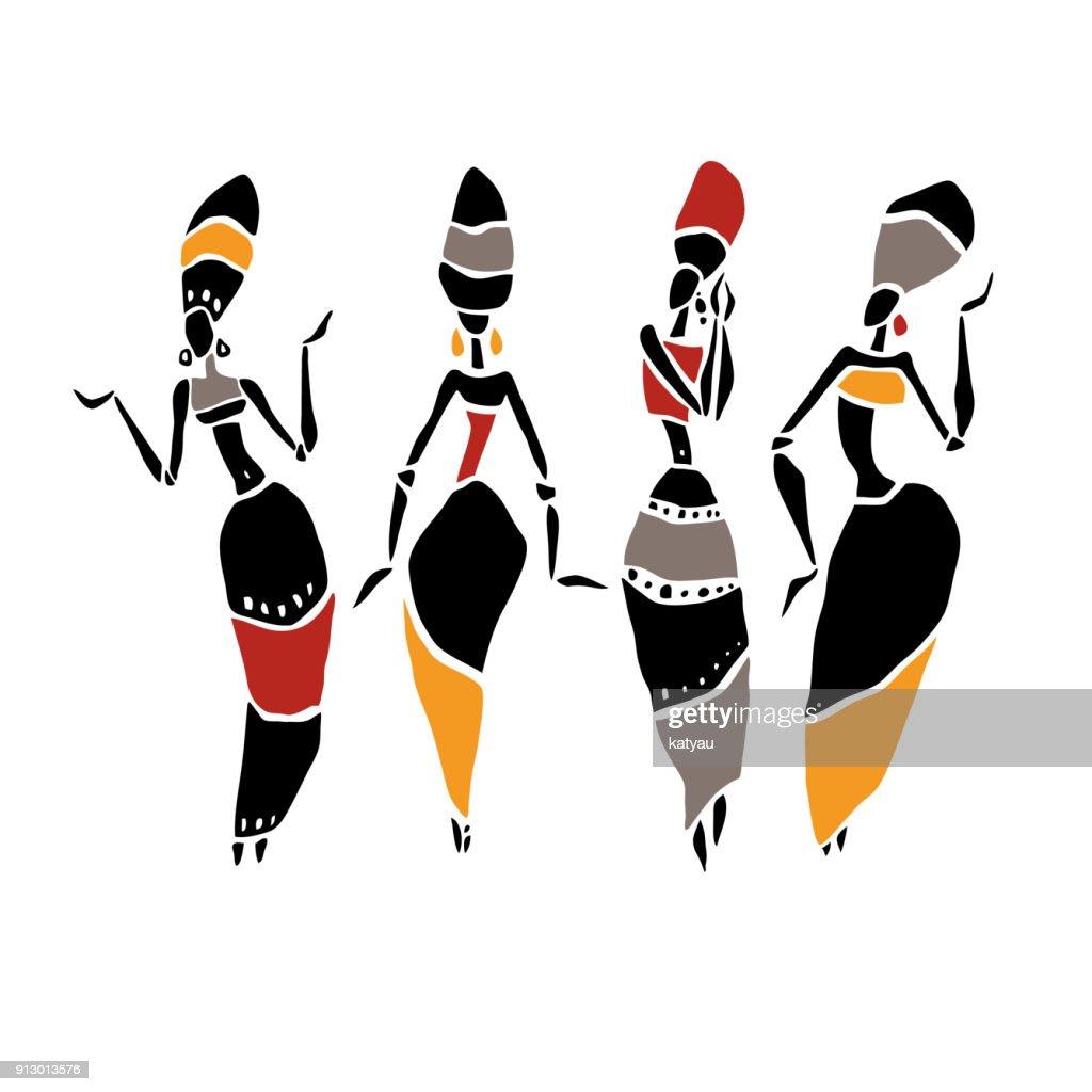 African Beautiful Women