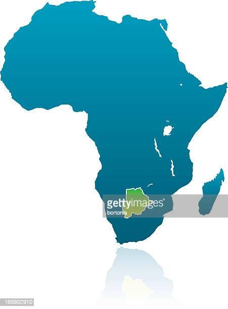 african countries: botswana - botswana stock illustrations, clip art, cartoons, & icons