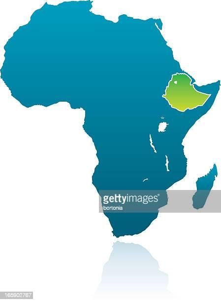 african countries: ethiopia - ethiopia stock illustrations, clip art, cartoons, & icons