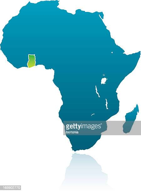 african countries: ghana - ghana stock illustrations, clip art, cartoons, & icons