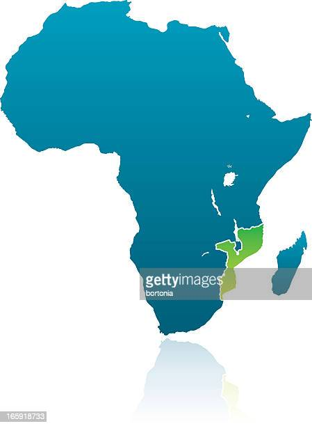 african countries: mozambique - mozambique stock illustrations, clip art, cartoons, & icons
