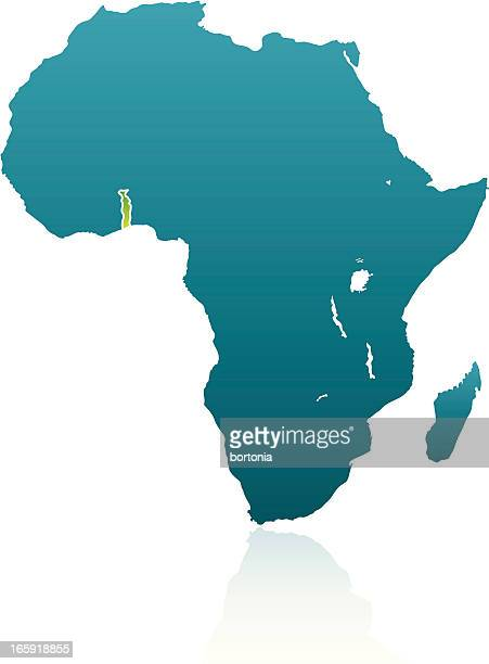 african countries: togo - togo stock illustrations, clip art, cartoons, & icons