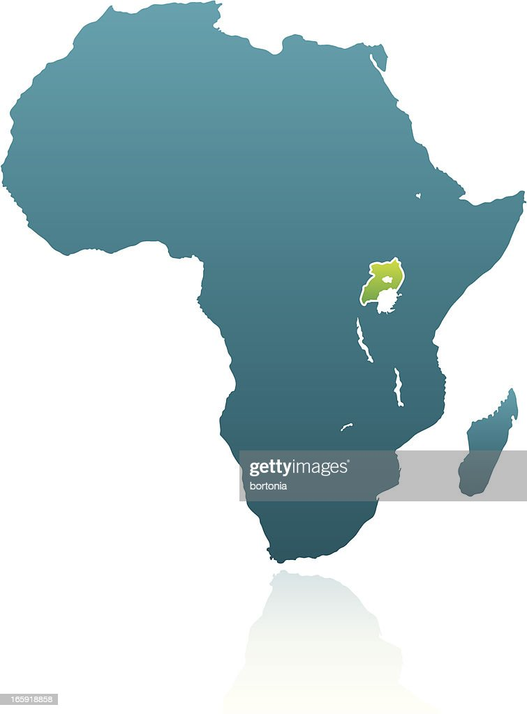 African countries uganda vector art getty images african countries uganda vector art sciox Images