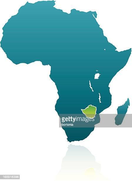 african countries: zimbabwe - zimbabwe stock illustrations, clip art, cartoons, & icons