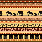 African ethnic decorative pattern