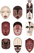 African Masks Traditional Ceremony Ritual Africa Mask