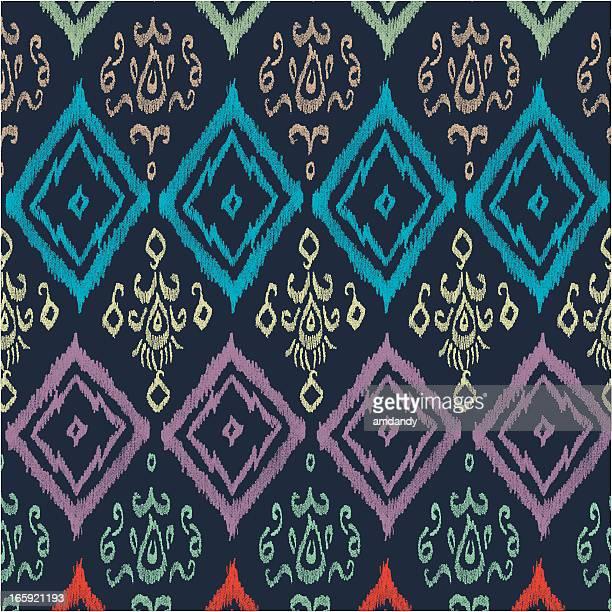 イカットアフリカ模様 - イカット点のイラスト素材/クリップアート素材/マンガ素材/アイコン素材