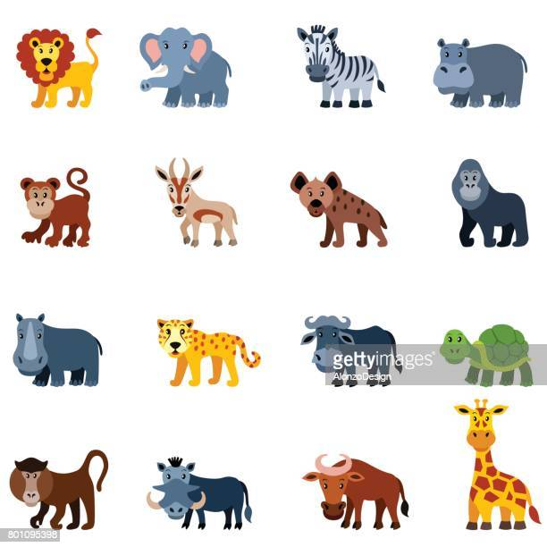 Animales africano salvaje