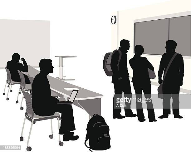 after class - high school student stock illustrations, clip art, cartoons, & icons