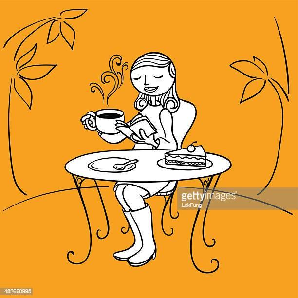ilustrações de stock, clip art, desenhos animados e ícones de chá da tarde - mesa cafe da manha