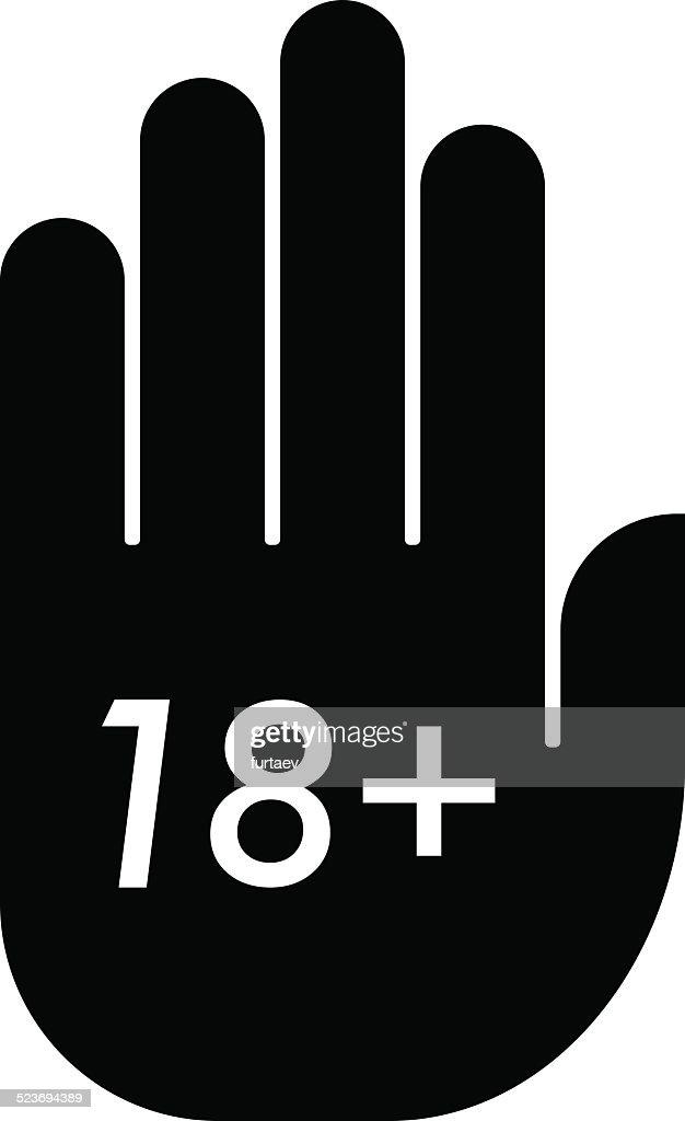 Age limit icon