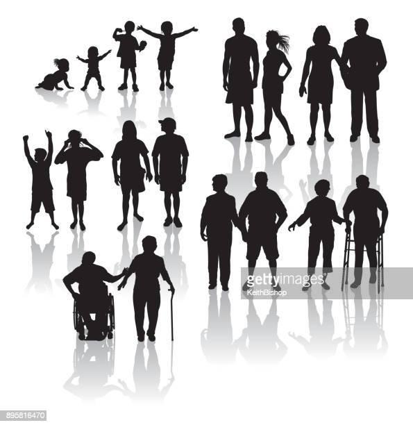 高齢化人口 - 古い得ている人々