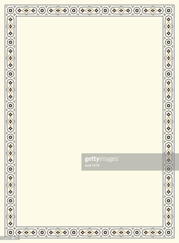Agra Simple Floral Frame