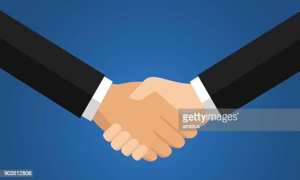 契約手ふれ - 握手点のイラスト素材/クリップアート素材/マンガ素材/アイコン素材
