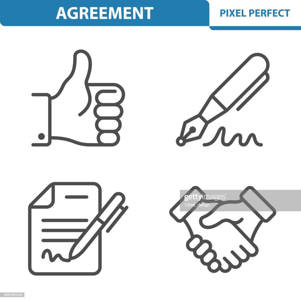 Agreement Icons