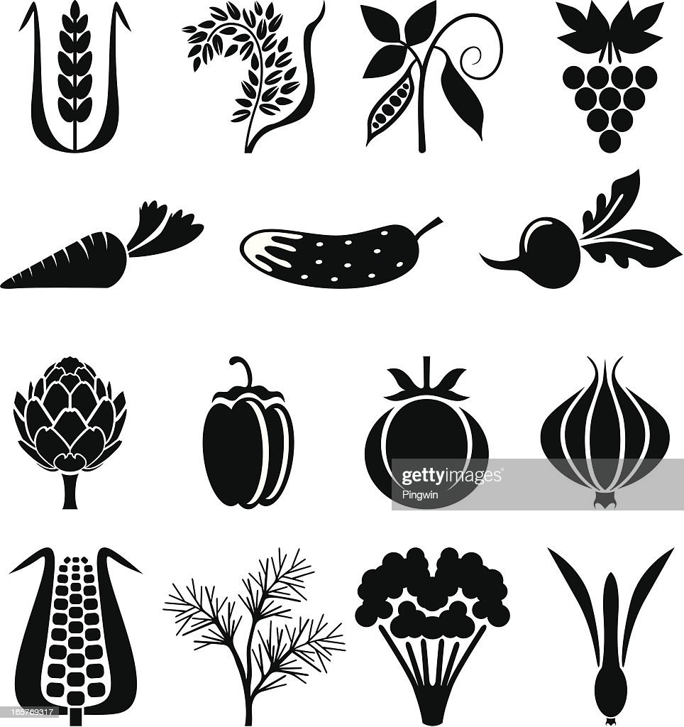 Agricultural icons set II