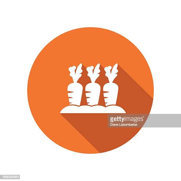 ilustraciones, imágenes clip art, dibujos animados e iconos de stock de agriculture farming flat color long shadow icons - largo longitud