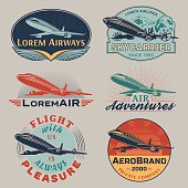 Air badges color
