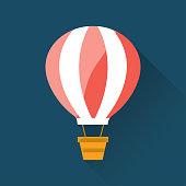 Air Balloon Flat Icon