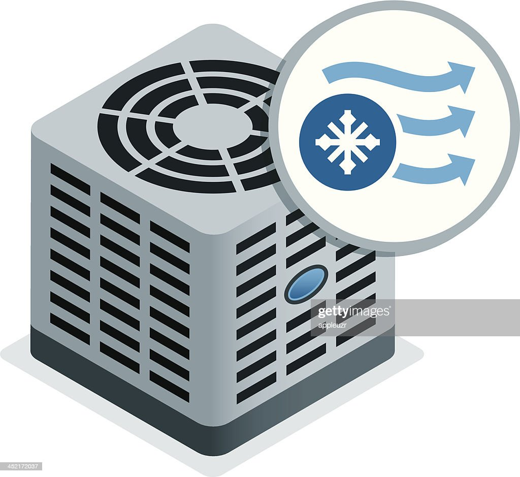 Air Conditioner Unit Vector Art   Getty Images
