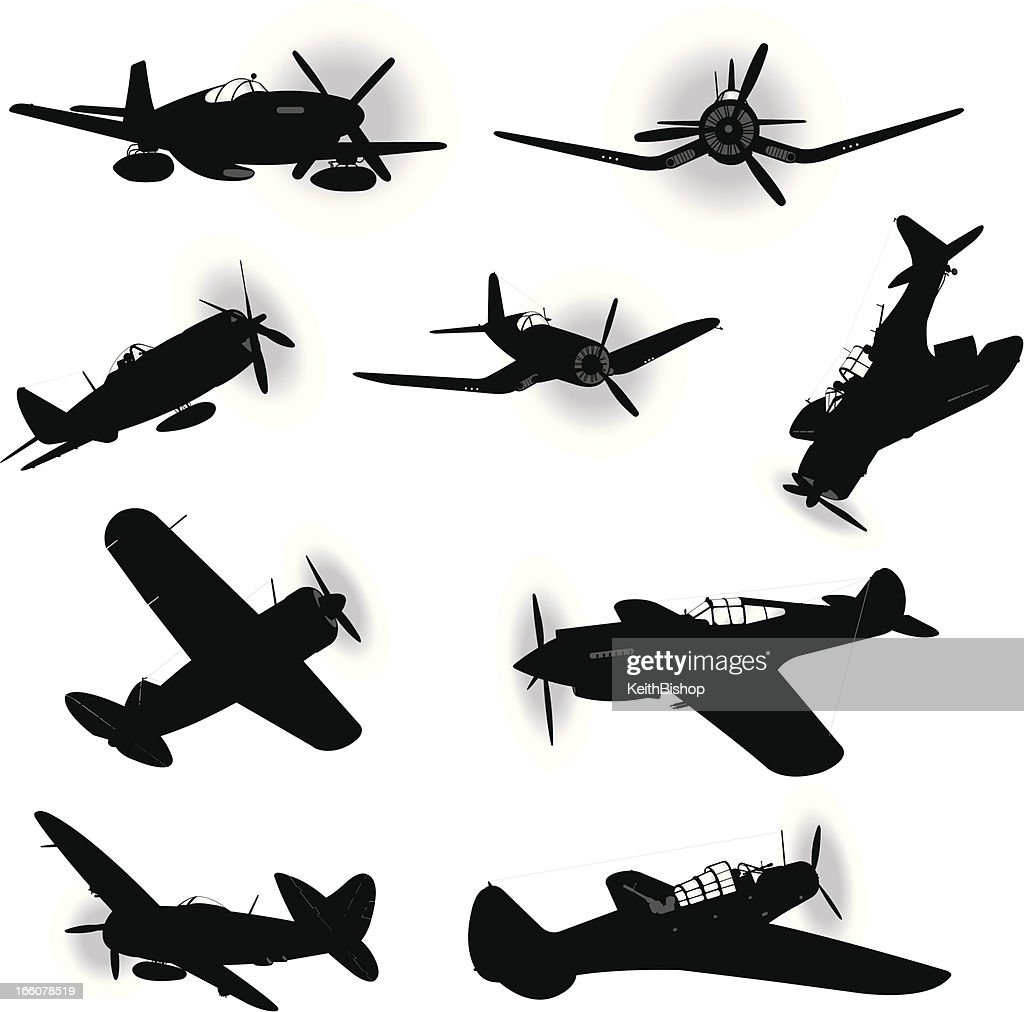 US Air Force Fighter Planes - World War Two