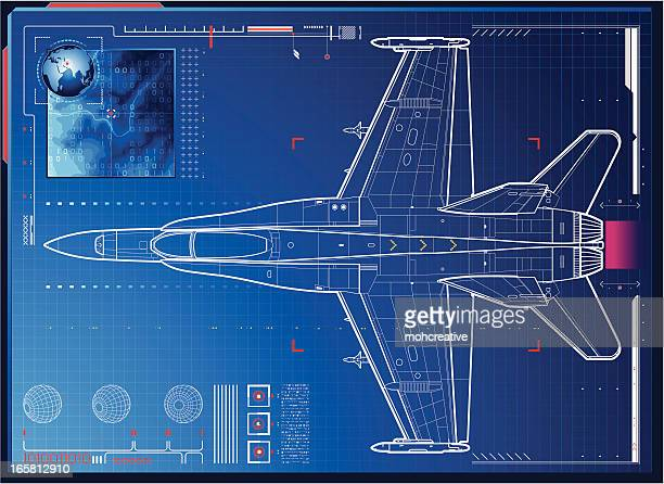 air force monitoring - military stock illustrations