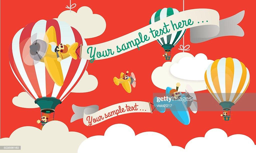 Air Show Child illustration