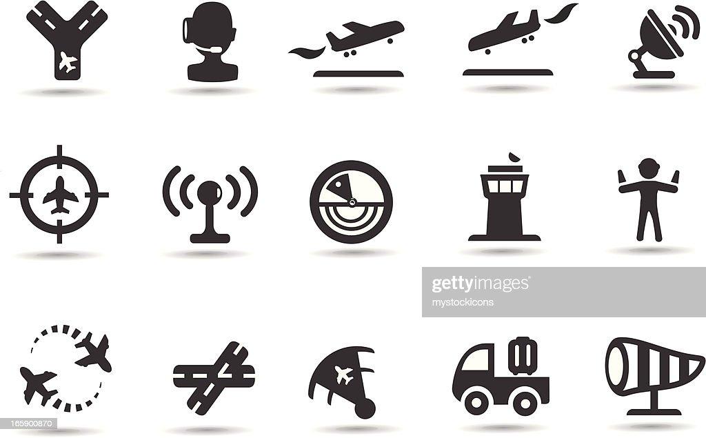 Air Traffic Control Icons