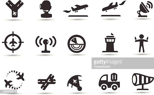 Air Traffic Control Icons