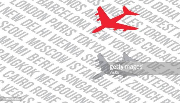航空旅行フライト航空運賃世界都市の背景 - 北ヨーロッパ点のイラスト素材/クリップアート素材/マンガ素材/アイコン素材