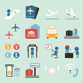 Air Travel icons