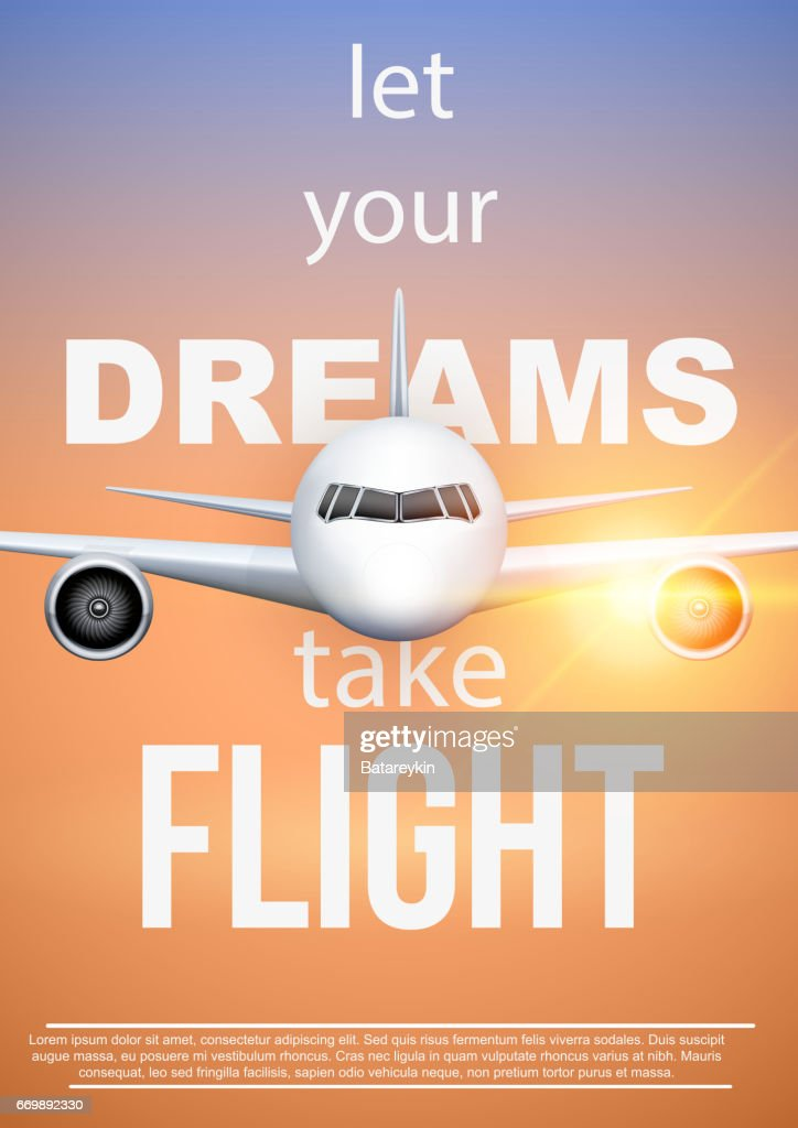 Air travel quotes Let Your DreamsTake Flight