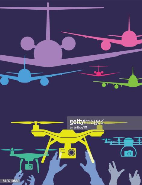 Aircraft and drones