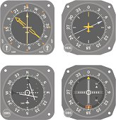 Aircraft instruments (set #5)