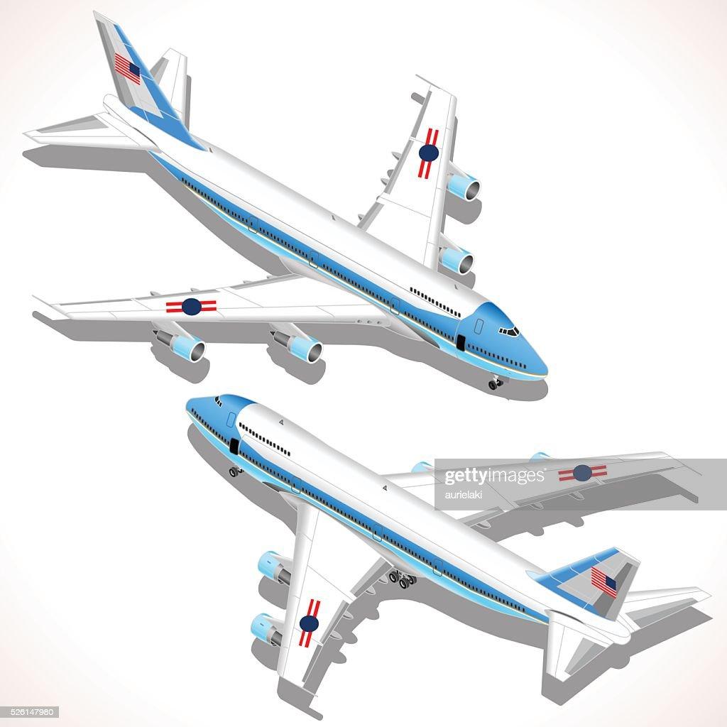 Aircraft Isometric Airplane